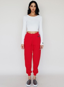 JENNER SCOOP NECK CROPPED TOP - 5colors 제너 스쿱넥 크롭탑 - 5컬러